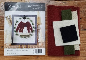 Snowman Ugly Sweater Orn Kit