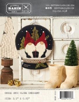 Gnome Snow Globe Ornament