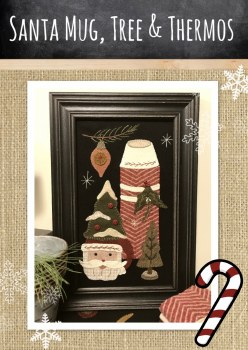 Santa Mug, Tree, Thermos