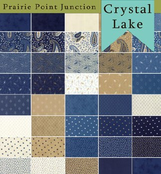 Crystal Lake 38 Fat Quarters