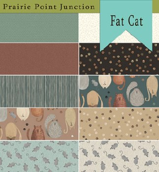 Fat Cat 10 Fat Quarters