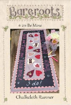 Be Mine Chalkboard Runner