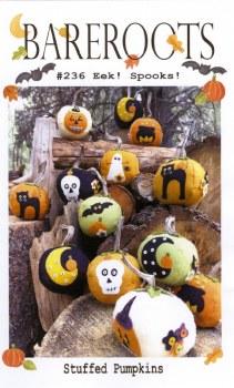 Eek Spooks Stuffed Pumpkins