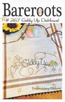 Giddy Up Dishtowel