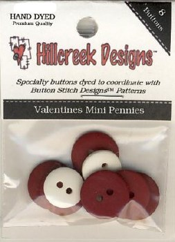Valentine Mini Pennies Buttons
