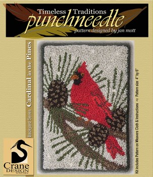 Cardinal in the Pines Punch Ne