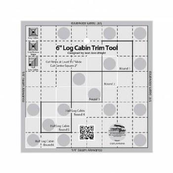 Ruler Log Cabin Trim Tool 6 in