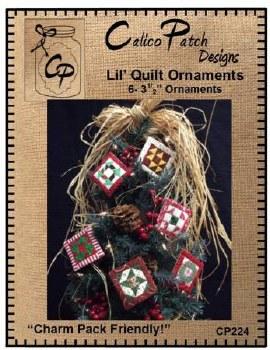 Lil Quilt Ornaments