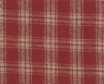Chatsworth Cabin Plaid Red/Cre