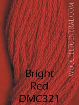 Floss Bright Red