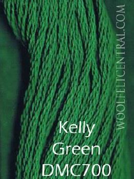 Floss Kelly Green