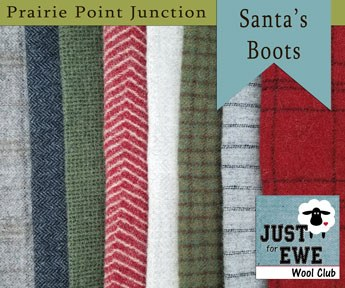 Wool Bundle Santa's Boots