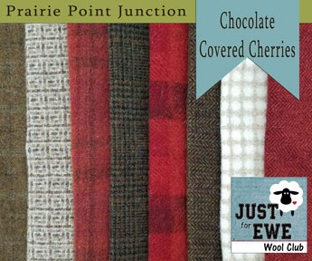 Wool Bundle Chocolate Cherries