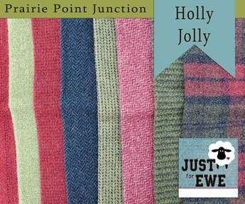 Wool Bundle Holly Jolly