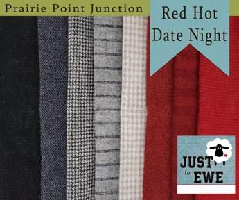 Wool Bundle Red Hot Date Night