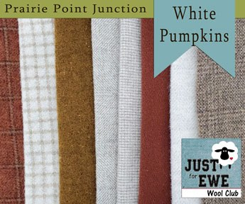 Wool Bundle White Pumpkins