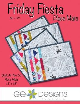 Friday Fiesta Place Mats