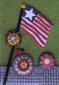 Old Glory Daisies