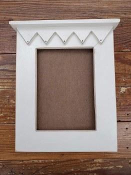 Frame Garden Moon White 5x7