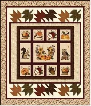 Hello Fall Quilt Kit