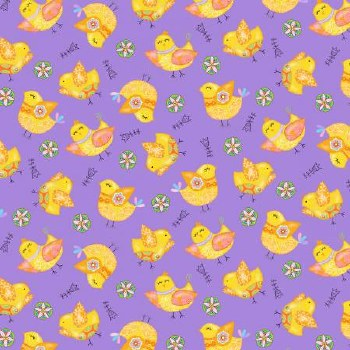 Carrot Patch Purple Chicks