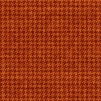 Houndstooth Basic Rust