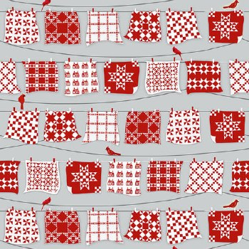 Holiday Heartland Quilts Red