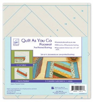 Quilt As You Go Placemats