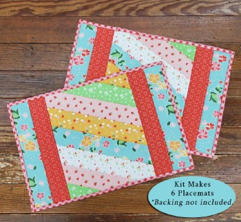 Jakarta Placemat Kit Strawberry and Honey