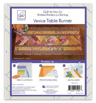 Quilt As You Go Venice Runner
