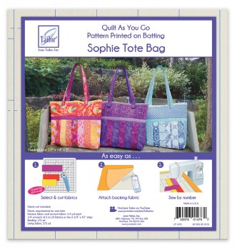 Quilt As You Go Sophie Tote