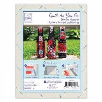 Quilt As You Go Wine Tote