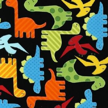 Urban Zoologie Dinosaurs Black