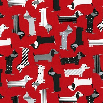 Urban Zoologie Dogs Red