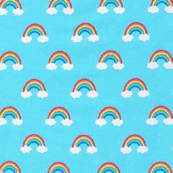 Happy Little Unicorns Rainbow Blue