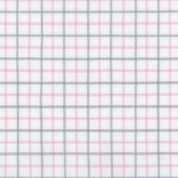 Brooklyn Flannel Sm Grid Pink