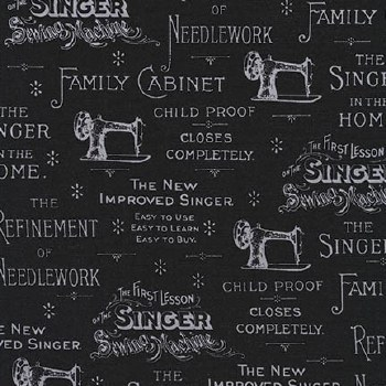 Sewing With Singer Advertising