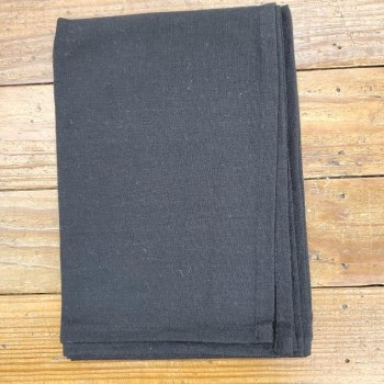 Towel Solid Black