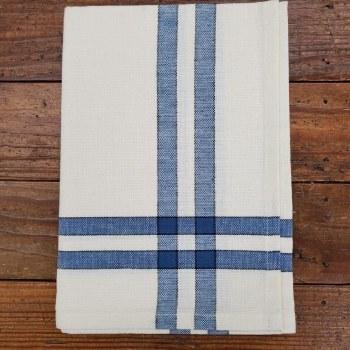 Towel Cream Provence Blue