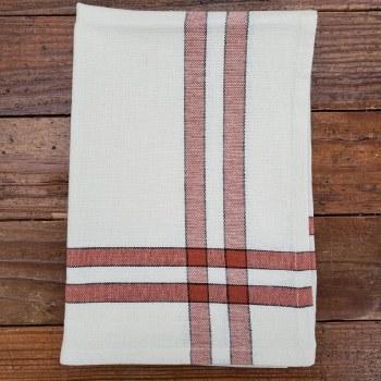 Towel Cream Terracotta