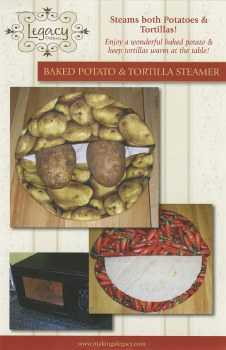 Baked Potato and Tortilla Stea