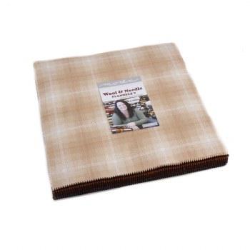 Wool Needle V Flan Layer Cake