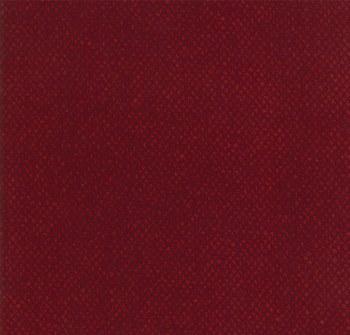 Wool Needle V Diagonal Check Card