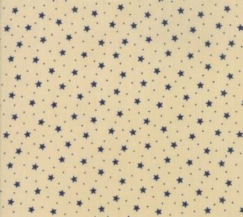 Star Stripe Gath Med Star Tan