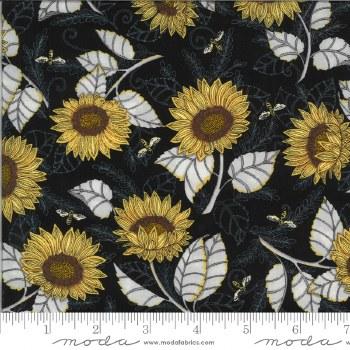 Bee Grateful Sunflower Ebony