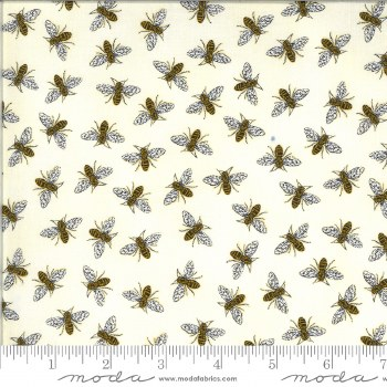 Bee Grateful Bees Parchment