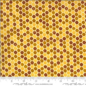Bee Grateful Comb Honey Yellow