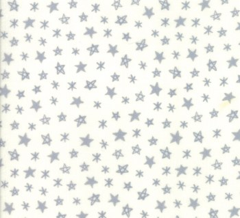 Soft Sweet Flannel Star Cream