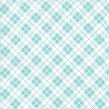 Orchard Pinic Basket Sky Blue