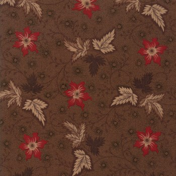 Harriets Handwork Leaf Brown